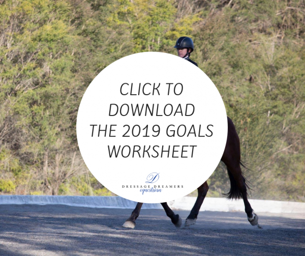 2019 goals worksheet